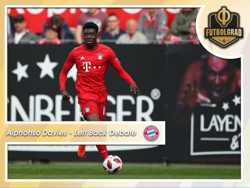 Alphonso Davies – Bayern's left-back debate
