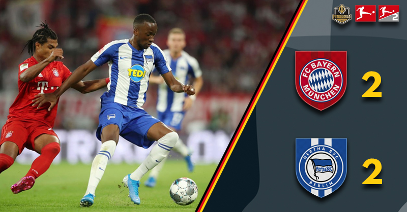 Bayern Munich drop two points against Hertha to start the season