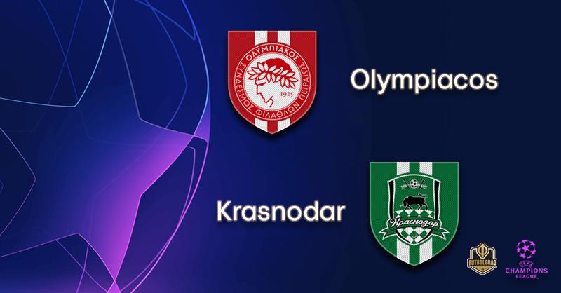 Olympiacos vs Krasnodar – Champions League – Preview