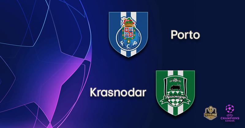 Porto vs Krasnodar – Champions League – Preview