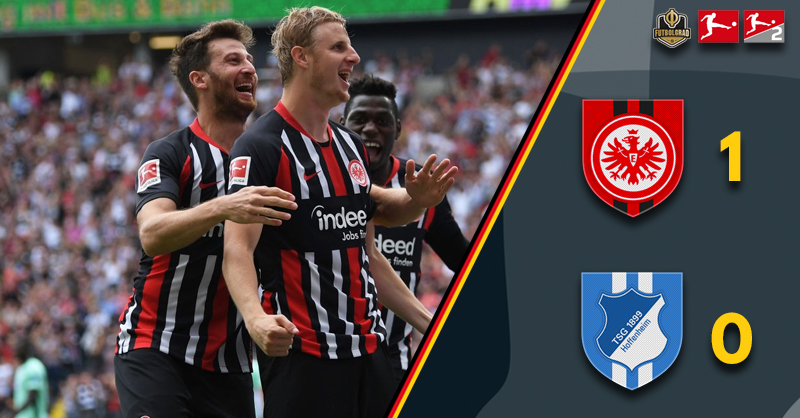 Eintracht Frankfurt strike early to take all three points against Hoffenheim