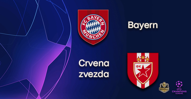 Bayern and Crvena zvezda renew historic rivalry