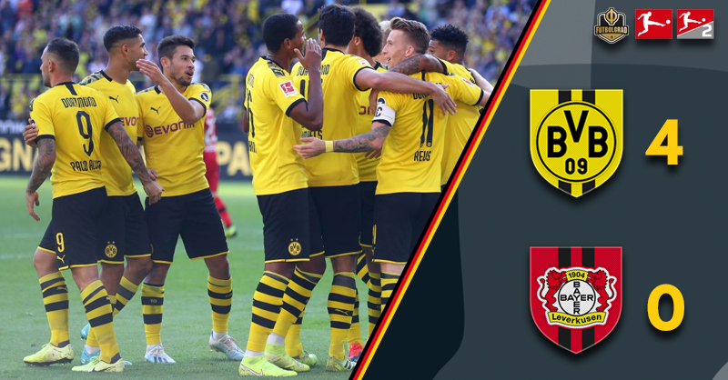 Dortmund simply sublime as Leverkusen feel the after effects of Berlin