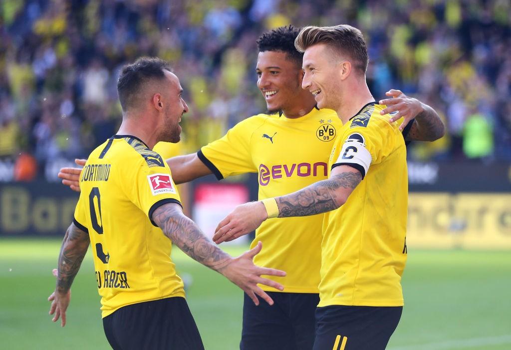 Jadon Sancho Dortmund Leverkusen