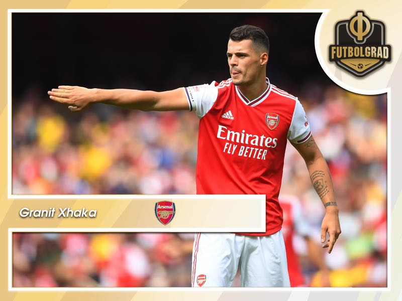 Granit Xhaka: Time to let go for Arsenal