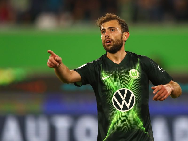 Wolfsburg v Hoffenheim - Admir Mehmedi of VfL Wolfsburg reacts during the Bundesliga match between VfL Wolfsburg and TSG 1899 Hoffenheim at Volkswagen Arena on September 23, 2019 in Wolfsburg, Germany. (Photo by Martin Rose/Bongarts/Getty Images)