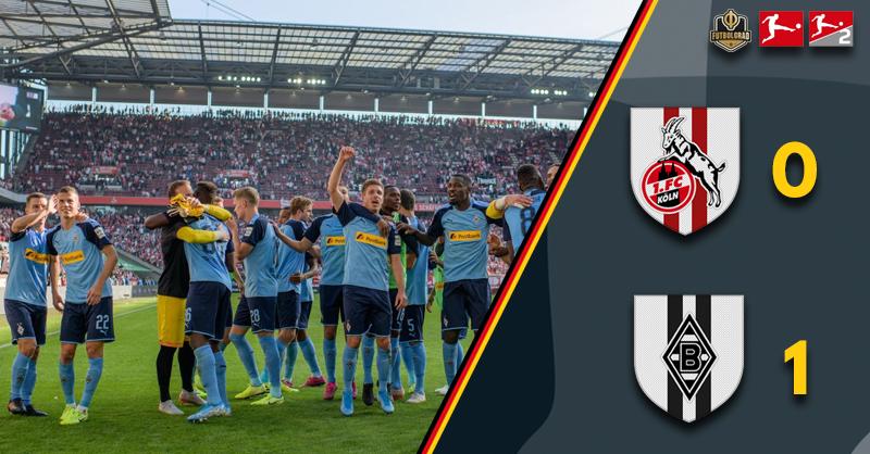 Gladbach take all three points in derby against Köln