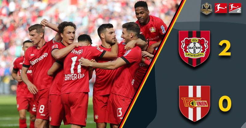 Leverkusen dominant in 2-0 victory over Union Berlin