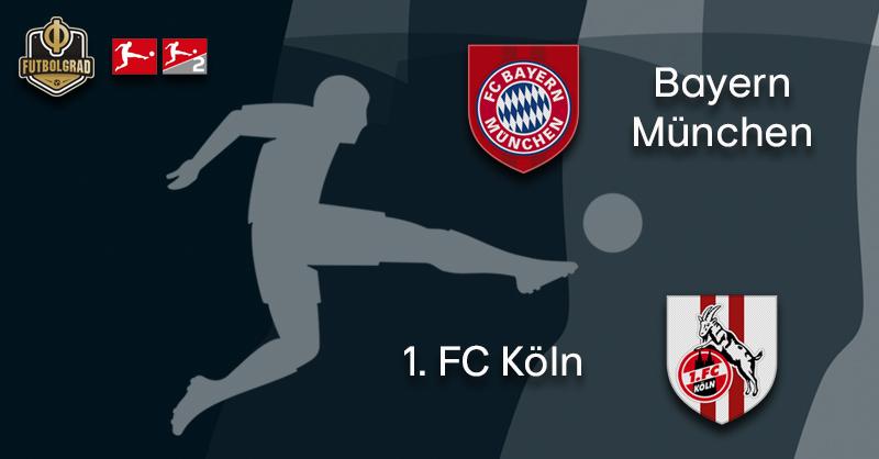Bayern Munich kick off Oktoberfest festivities against Köln
