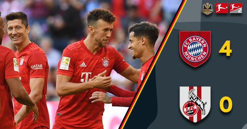 Bayern kick off Oktoberfest festivities with 4-0 win over Köln