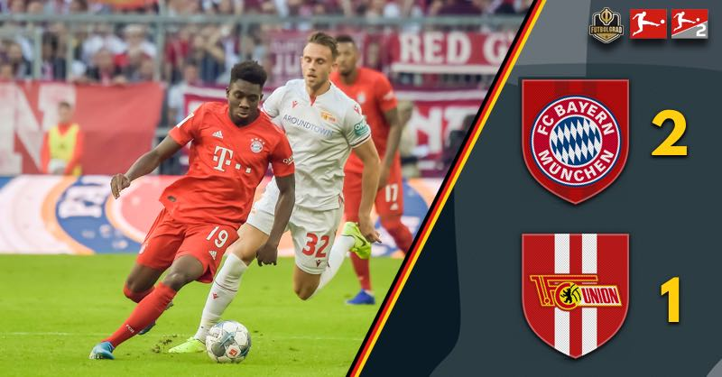 Davies with the start, Lewandowski with the record, Bayern win 2-1 against Union Berlin