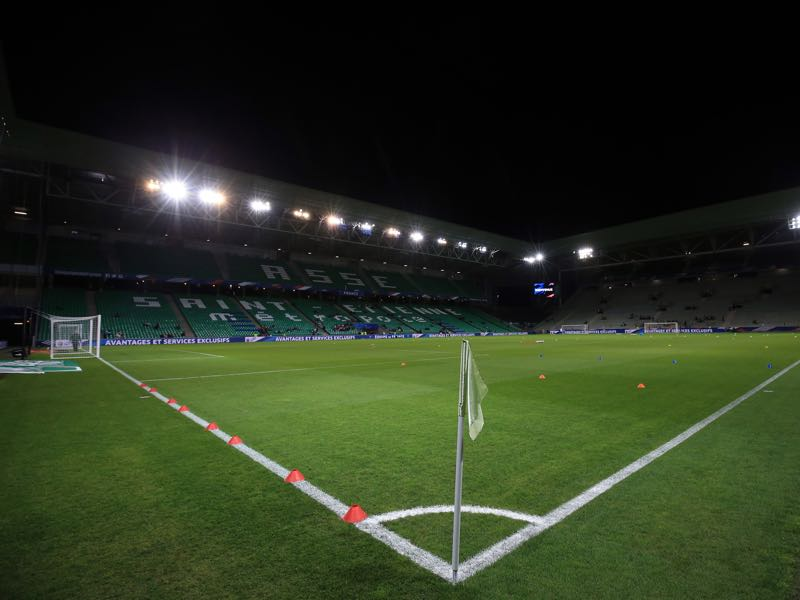 St-Étienne vs Wolfsburg will take place at the Stade Geoffroy-Guichard in St-Étienne (Photo by Marc Atkins/Getty Images)