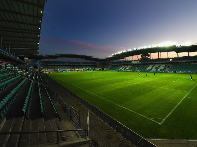 Estonia vs Germany will take place at the A. Le Coq Arena in Tallinn (Photo by Shaun Botterill/Getty Images)