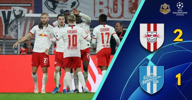 Sabitzer's wonder goal secures Leipzig three points against Zenit