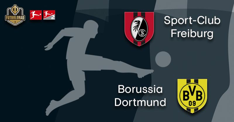 Freiburg host under pressure Borussia Dortmund