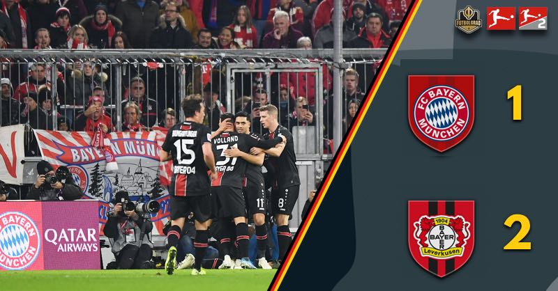 Hansi Flick's honeymoon is over! Bayern Munich defeated 1-2 by Bayer Leverkusen