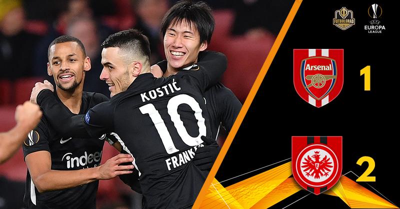 Unai Emery on the brink as Arsenal fall to Eintracht Frankfurt