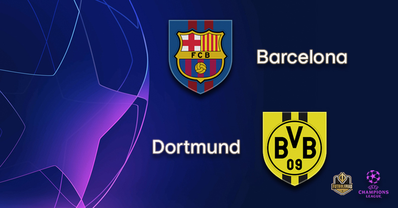 Lionel Messi leads Barcelona against under pressure Borussia Dortmund
