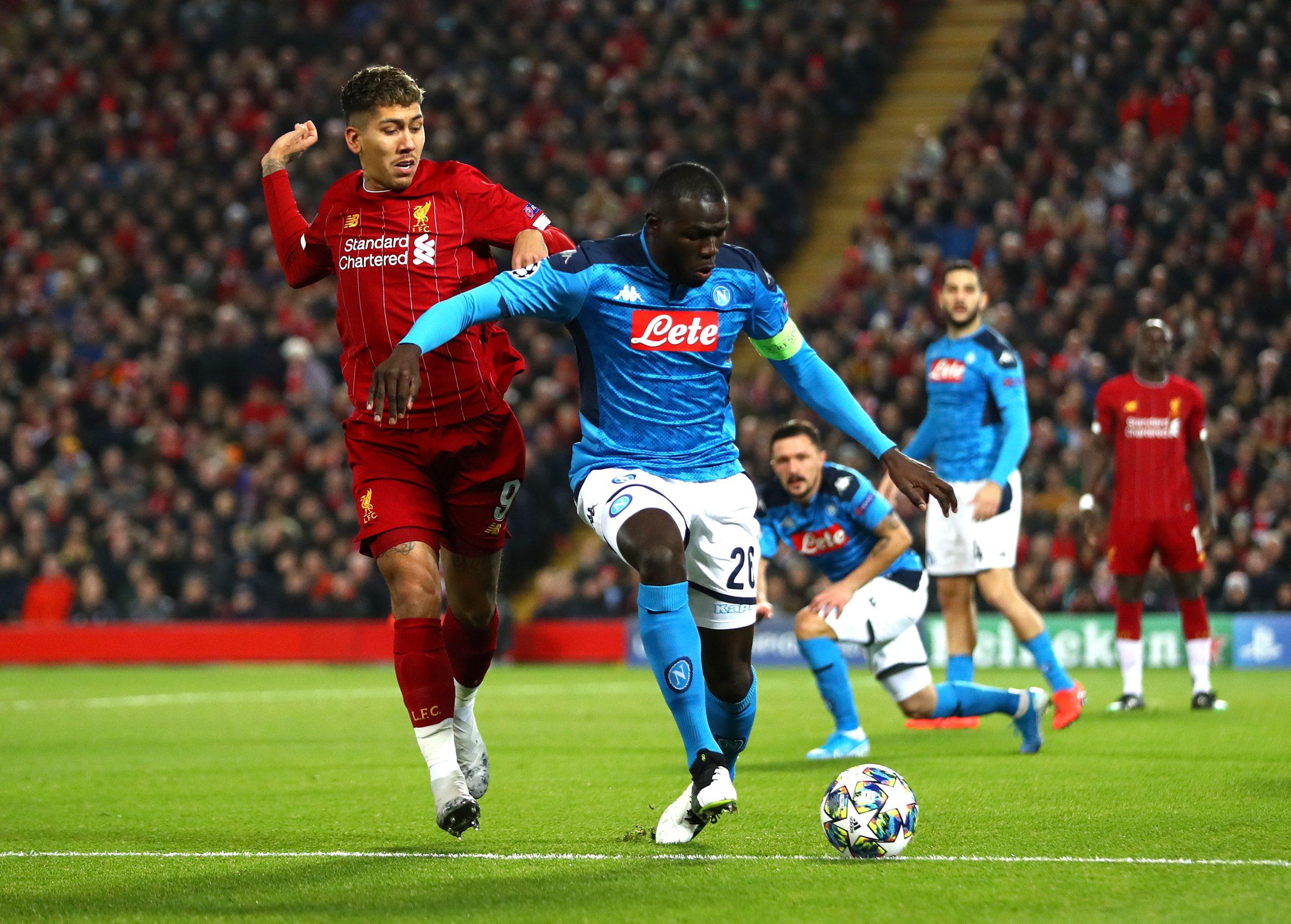 Liverpool Fc V Ssc Napoli Group E Uefa Champions League