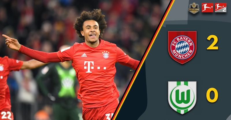 Joshua Zirkzee the hero! Bayern beat Wolfsburg late