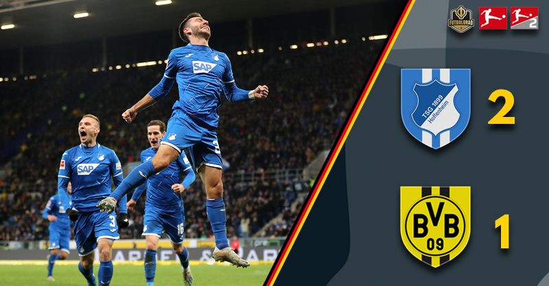 An early Christmas present, Borussia Dortmund hand three points to Hoffenheim