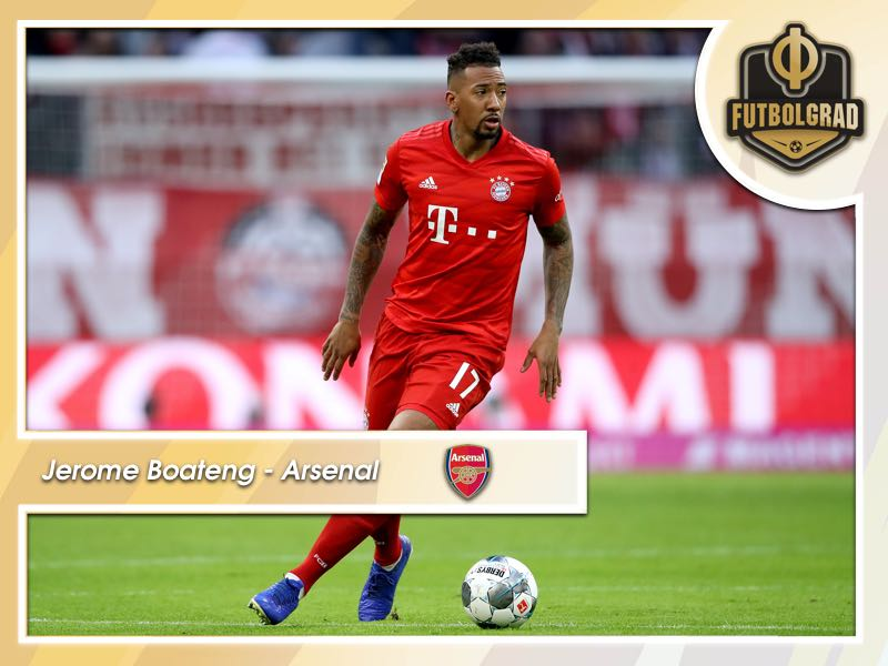Arsenal move in on Bayern's Jerome Boateng