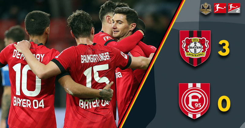 Kai Havertz opens the floodgates as Bayer Leverkusen ease past Fortuna Düsseldorf