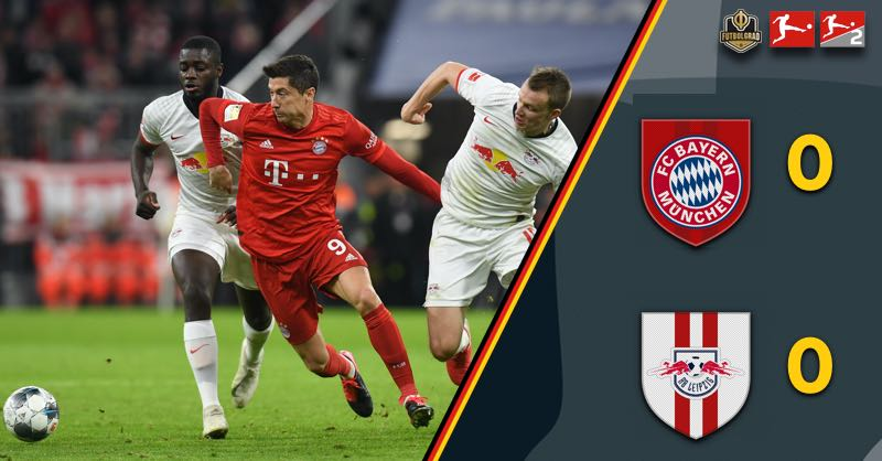 Title decider postponed, Bayern held by RB Leipzig