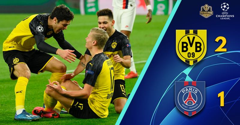 Erling Haaland's latest record leads Dortmund to victory over PSG