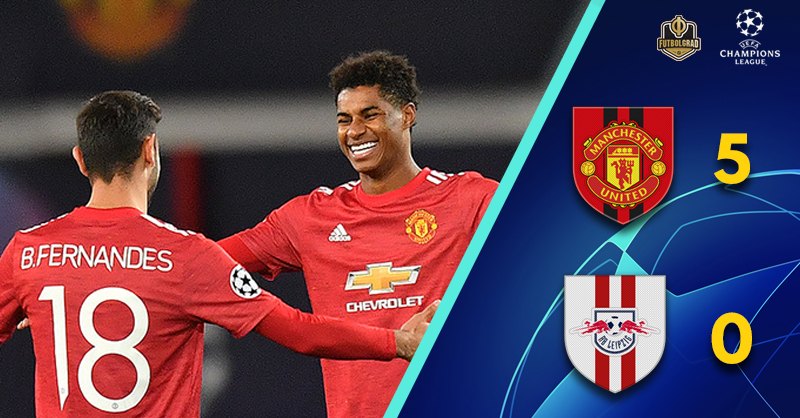 Marcus Rashford punishes RB Leipzig on a night to forget for Julian Nagelsmann