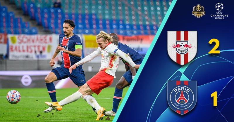 Leipzig outshine Paris St Germain on Tuchel's return to Germany