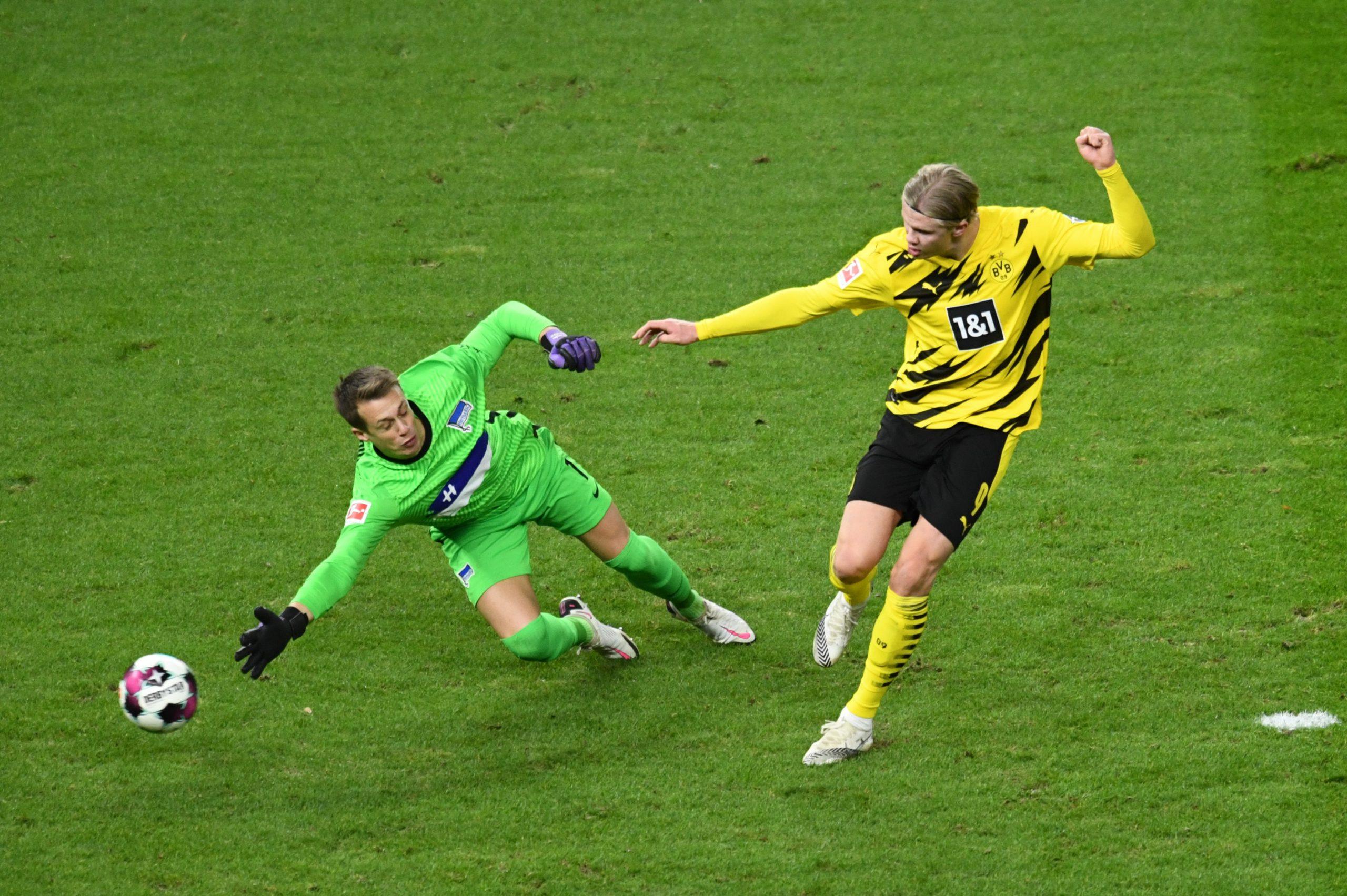 Erling Haaland - Hertha Berlin vs Borussia Dortmund