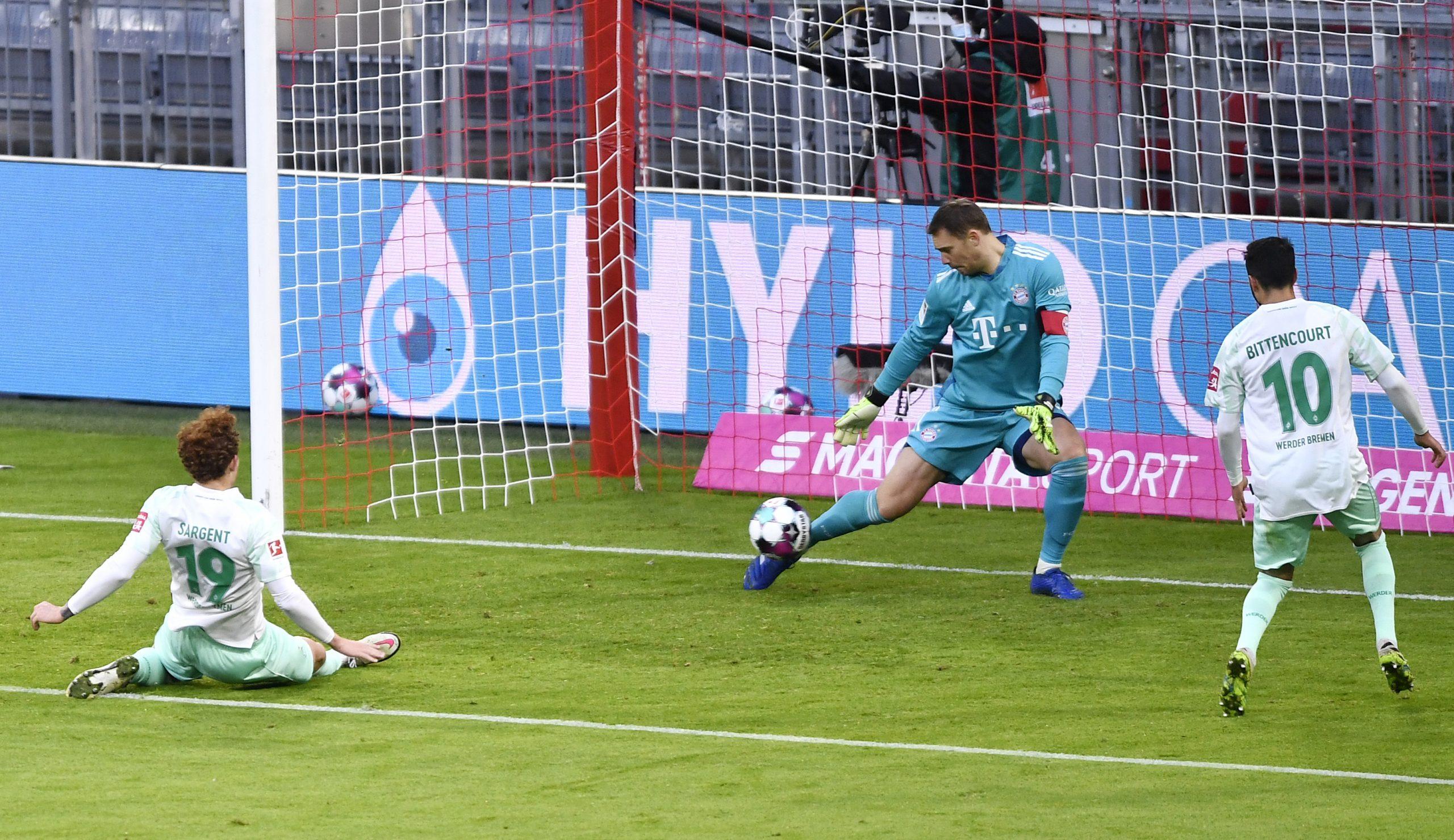 Manuel Neuer - Bayern Munich vs Werder Bremen
