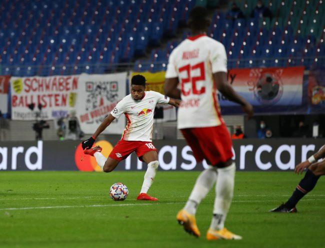 Christopher Nkunku - RB Leipzig vs Paris St Germain