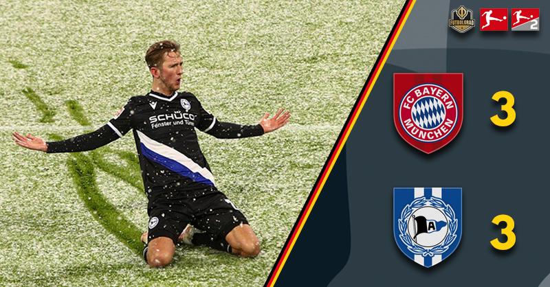 World Club Champions Bayern brought back to earth by Arminia Bielefeld