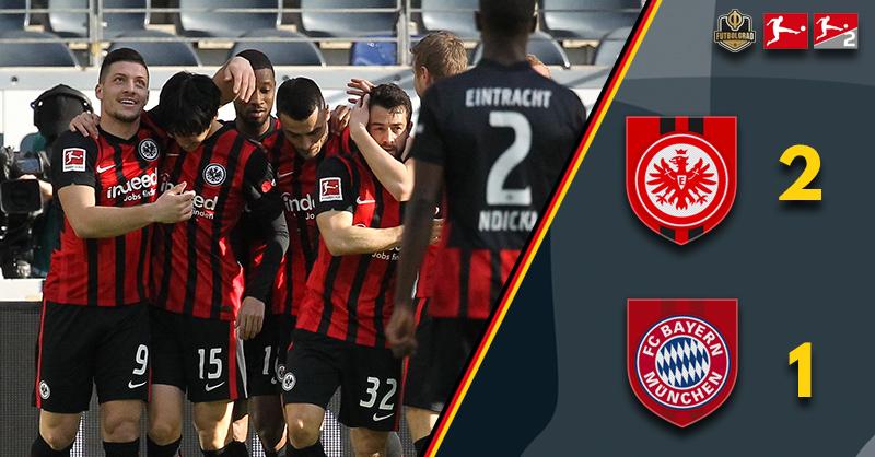 Daichi Kamada the star as Frankfurt add to Bayern's Bundesliga problems