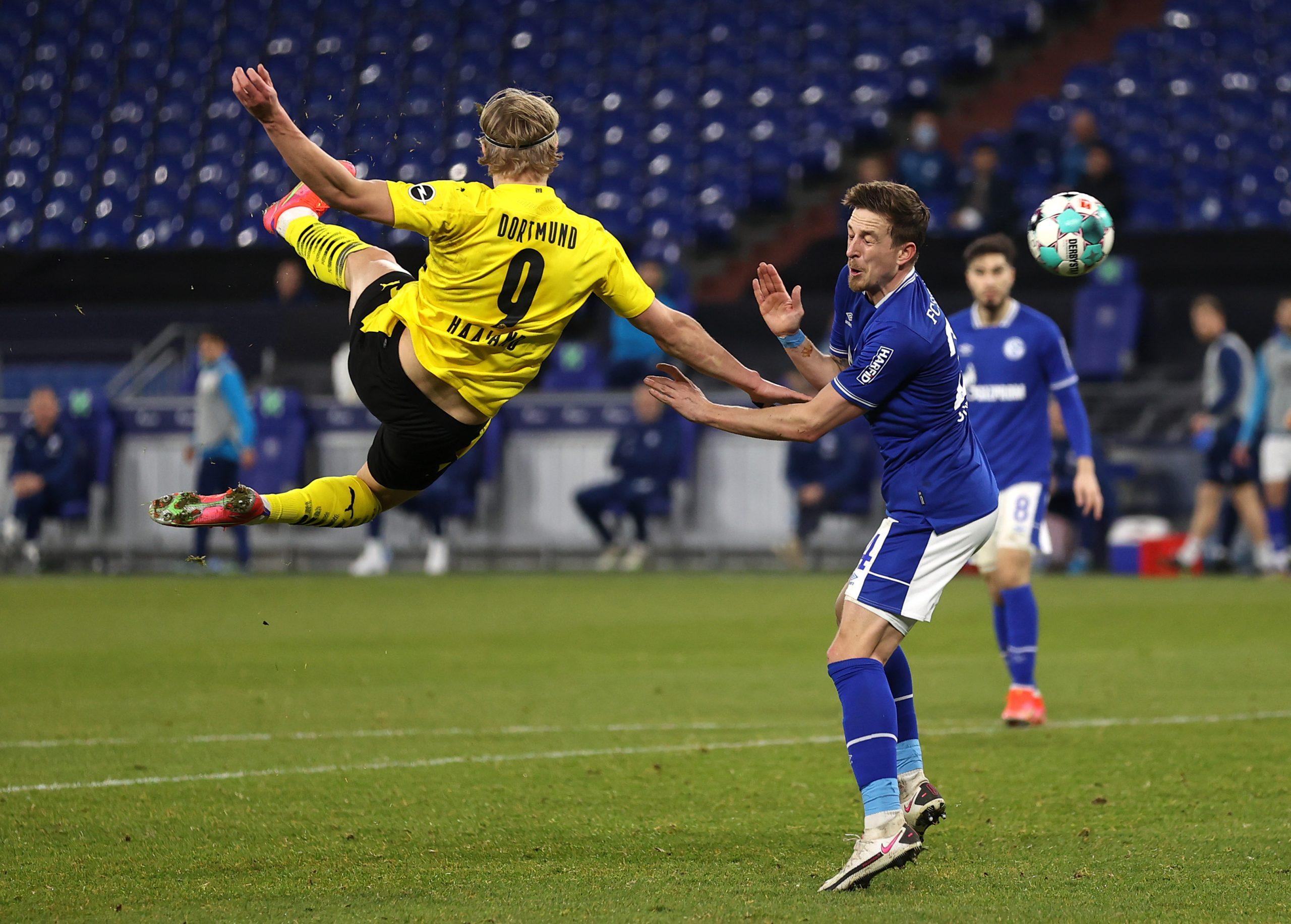 Erling Haaland - Schalke vs Borussia Dortmund