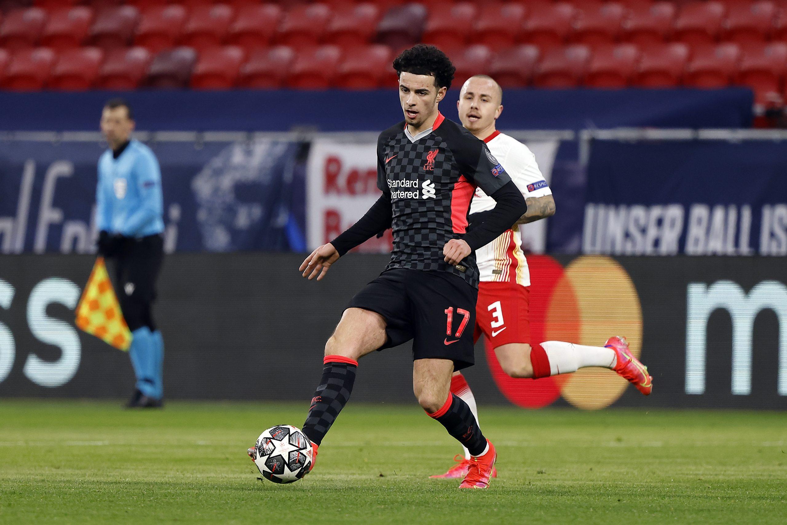 Curtis Jones - RB Leipzig vs Liverpool