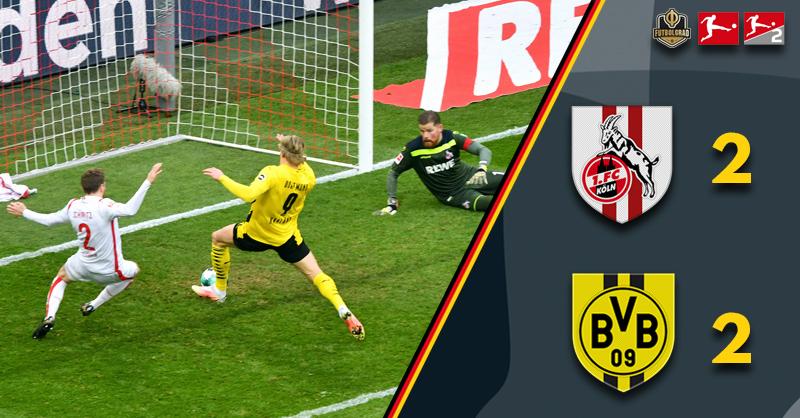 Edin Terzic – 'Unforced errors cost us' as Dortmund slip up away to Köln