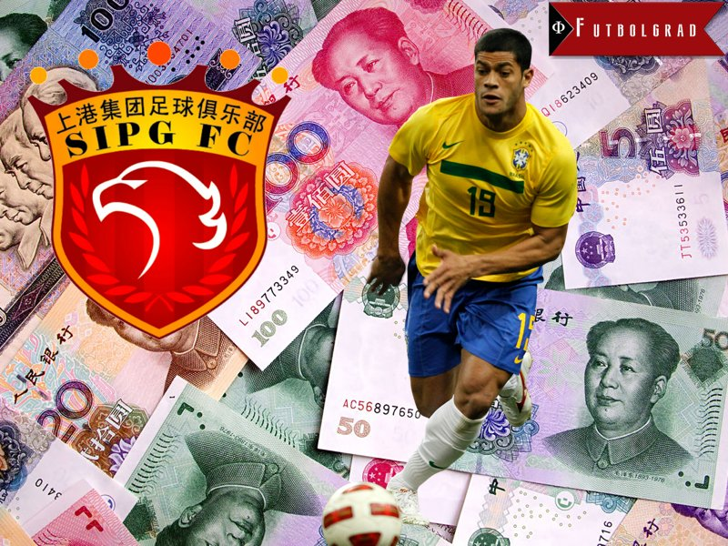 On the Silk Road – Hulk Moves to Shanghai SIPG