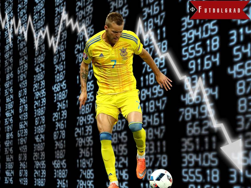 Andriy Yarmolenko – Who is Dortmund's Potential Dembélé Replacement?