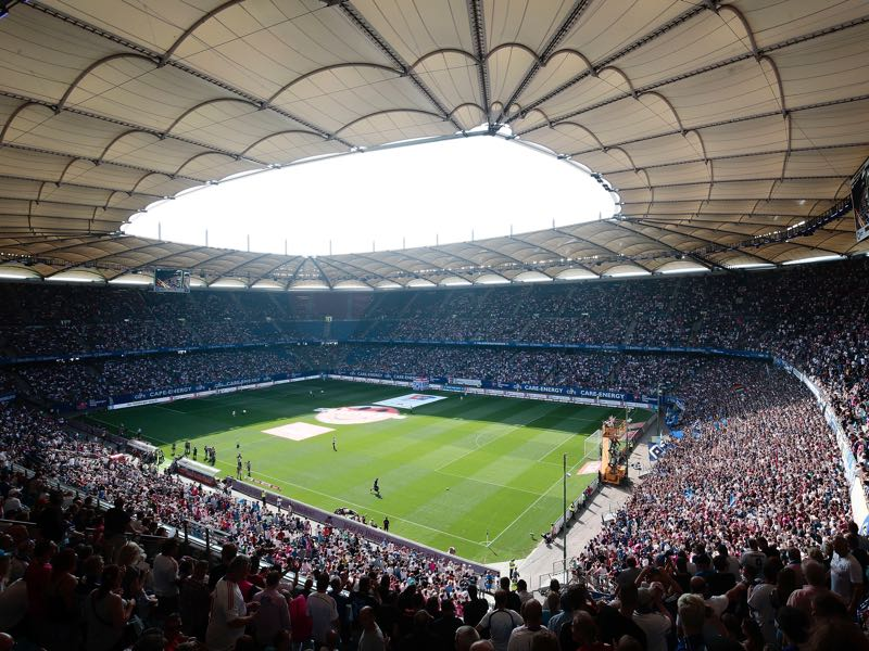 Germany vs Netherlands will take place at the Volksparkstadion in Hamburg. (Photo by Oliver Hardt/Bongarts/Getty Images)