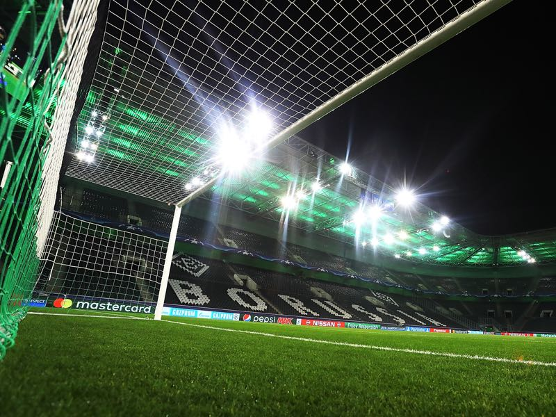 Mönchengladbach vs Roma will take place at the Borussia-Park in Mönchengladbach. (Photo by Alex Grimm/Bongarts/Getty Images)