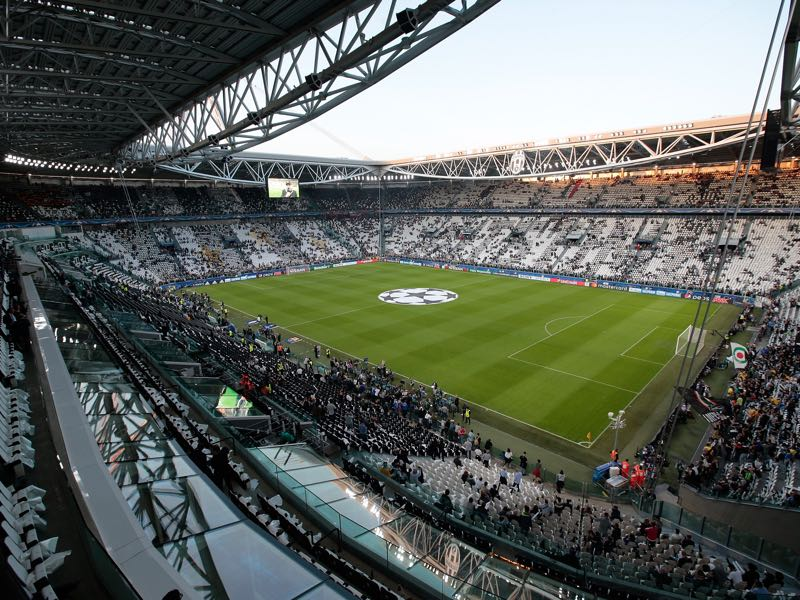 The Champions League match Juventus vs Bayer Leverkusen will take place in the Juventus Stadium in Turin. (Photo by Emilio Andreoli/Getty Images)