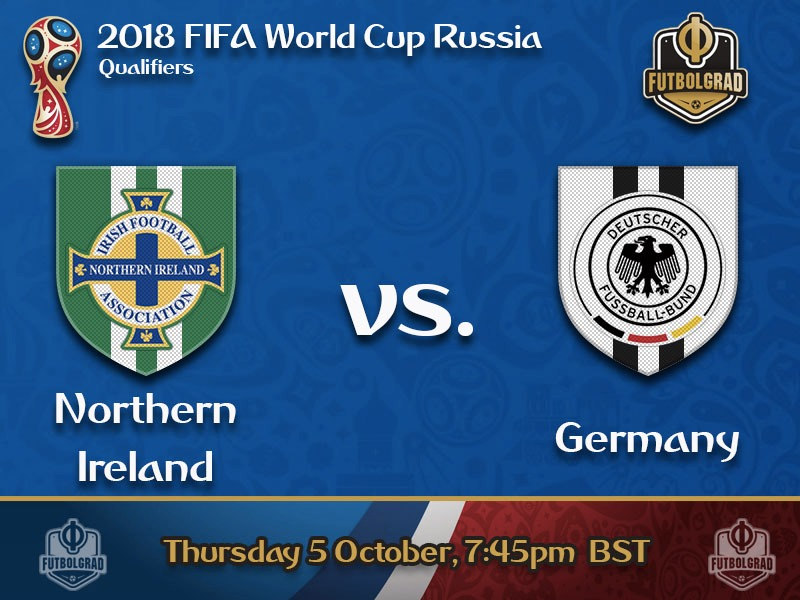 Northern Ireland v Germany – World Cup Qualifying Live