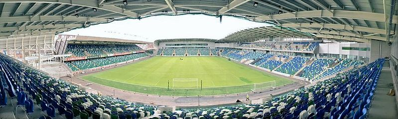 Northern Ireland v Germany will take place at Windsor Park (Citizen69 CC-BY-SA-4.0)