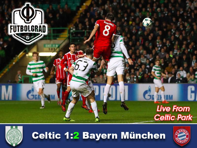 Celtic vs Bayern – Champions League Match Report