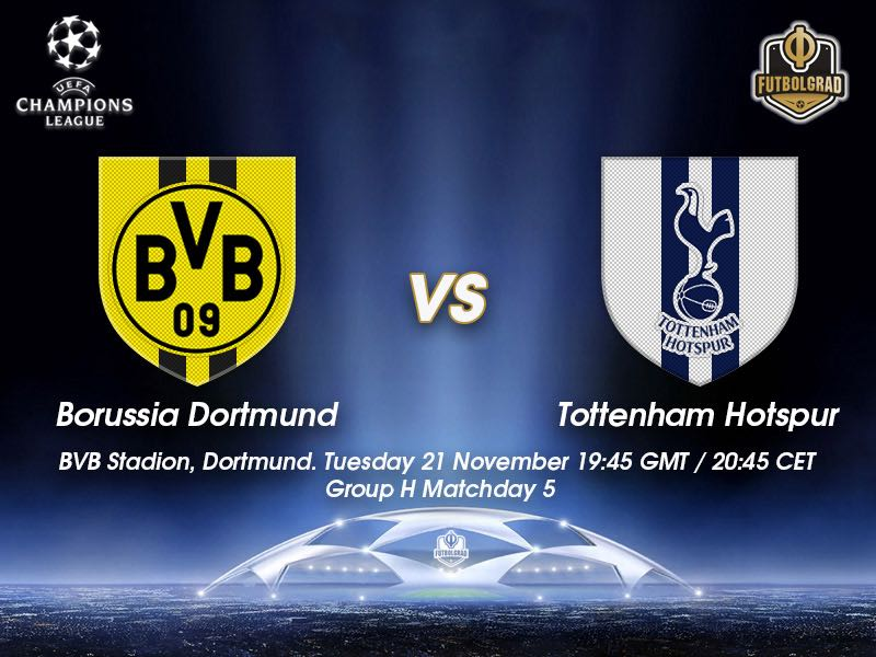 Dortmund vs Tottenham – Champions League – Preview
