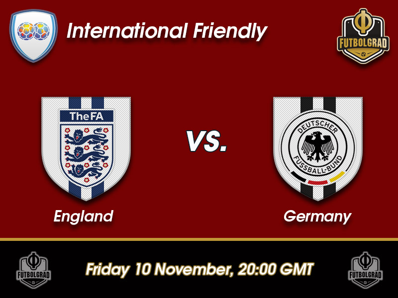 England vs Germany – International Friendly Preview