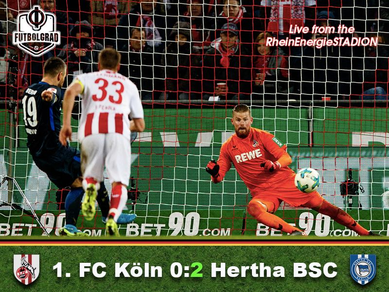 Köln v Hertha Berlin – Match Report